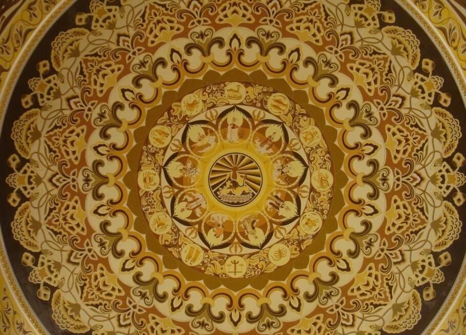 佛教莲花纹瓷器